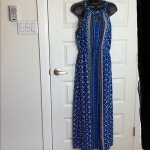 Elle Sleeveless Blue Dress